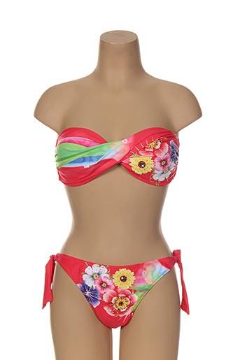 katia maillots de bain femme de couleur rouge