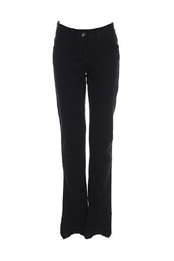 Jeans coupe slim noir SANDWICH pour femme