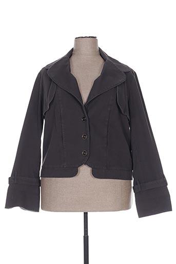 Veste casual gris ROSA ROSAM pour femme