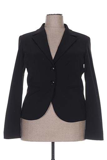 Veste chic / Blazer noir CLAUDIA GIL pour femme