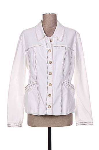 Veste en jean blanc ROSA ROSAM pour femme