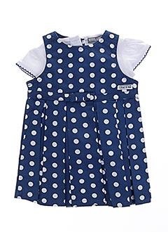 Top/robe bleu P'TITES CANAILLES pour fille
