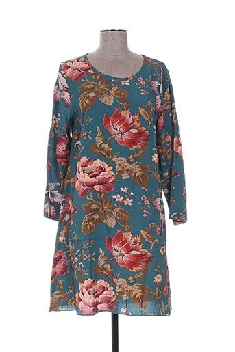 Robe courte bleu R95TH pour femme