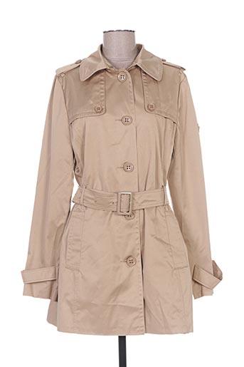 buretti manteaux femme de couleur beige