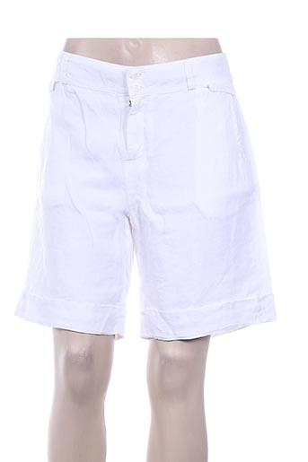 Short blanc IMPAQT pour femme