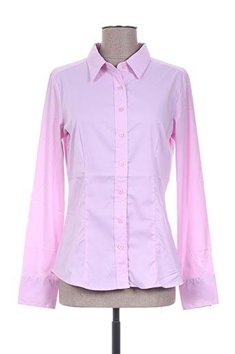 diego reiga chemises femme de couleur rose