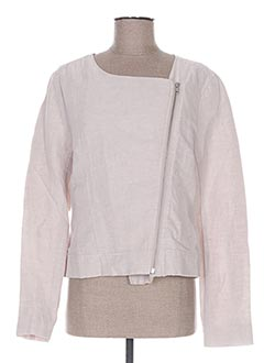 Veste chic / Blazer beige ICHI pour femme