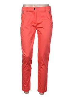 Pantalon 7/8 orange ABSOLU pour femme