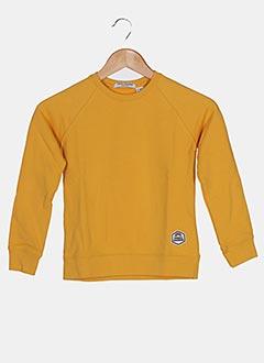 Sweat-shirt jaune FRENCH DISORDER pour enfant