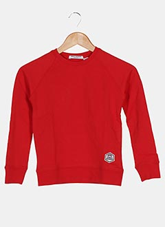 Sweat-shirt rouge FRENCH DISORDER pour enfant