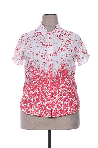 desaivre chemises femme de couleur rouge