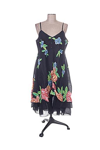 chadia robes femme de couleur noir