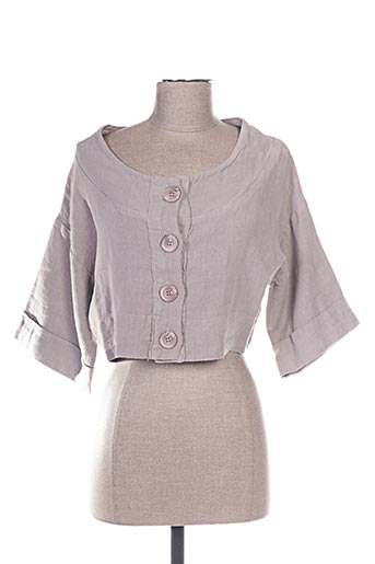 Veste casual gris ARTHURIO LINO pour femme