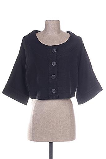 Veste casual noir ARTHURIO LINO pour femme