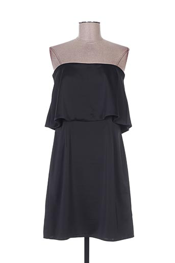 Robe courte noir ADOREE pour femme