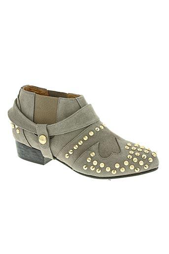 squirrel chaussures femme de couleur gris