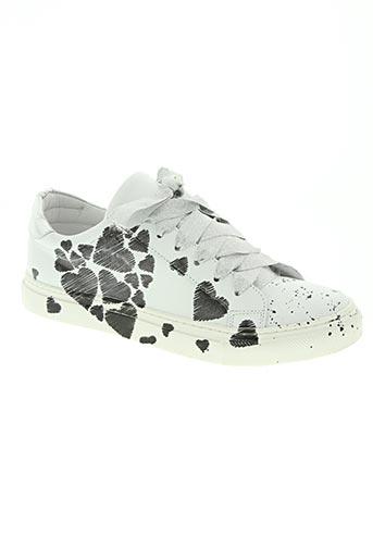 semerdjian chaussures femme de couleur blanc