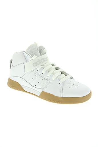 adidas chaussures homme de couleur blanc