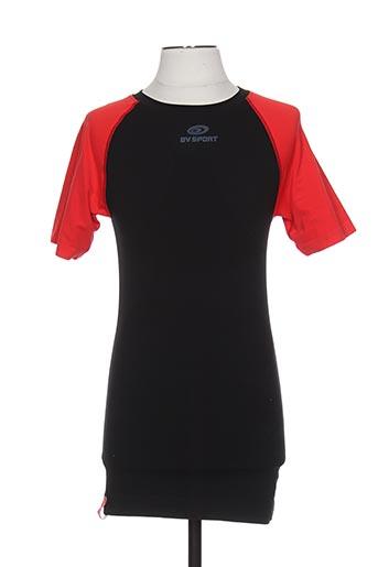 T-shirt manches courtes noir BV SPORT pour homme