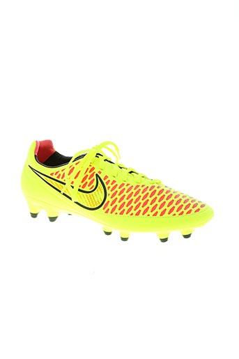 nike chaussures homme de couleur jaune