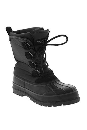 regatta chaussures homme de couleur noir