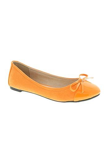 elizabeth stuart chaussures femme de couleur orange