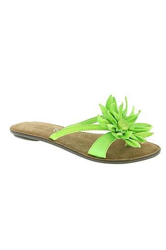 elizabeth stuart chaussures femme de couleur vert