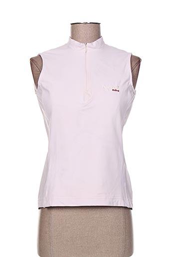 degre7 t-shirts femme de couleur rose