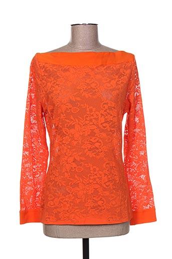 suggest chemises femme de couleur orange