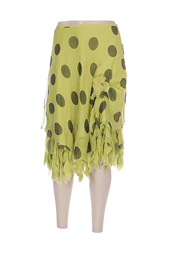 leïko jupes femme de couleur vert