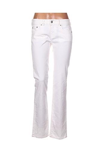 nfy jeans femme de couleur blanc