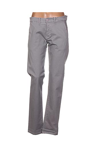 malkovich pantalons homme de couleur gris