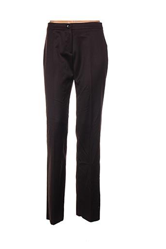 Pantalon chic marron CARACTERE pour femme
