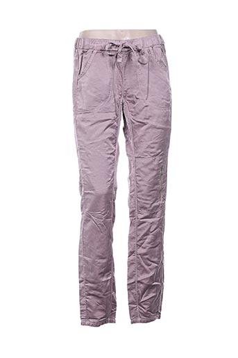 Pantalon casual rose DEHA pour femme