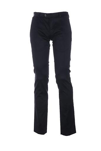 Pantalon casual noir HOTEL pour homme