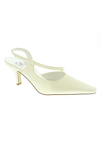 d chaussures femme de couleur beige