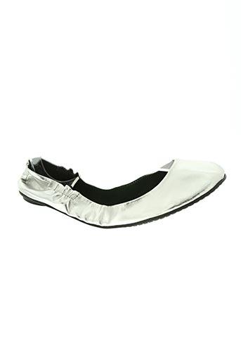 poirier chaussures femme de couleur gris