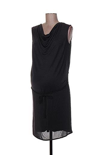 Robe courte gris COLLINE pour femme