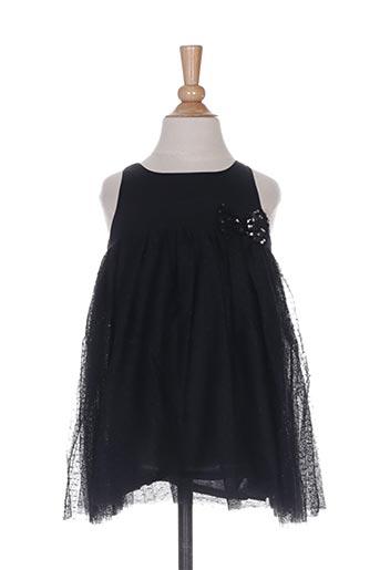 Robe mi-longue noir VERTBAUDET pour fille