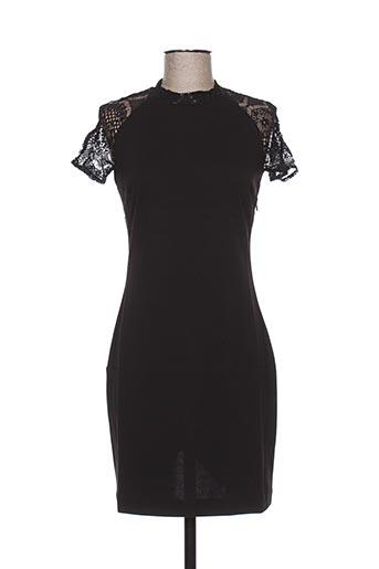 Robe courte noir SO ESSENTIAL pour femme