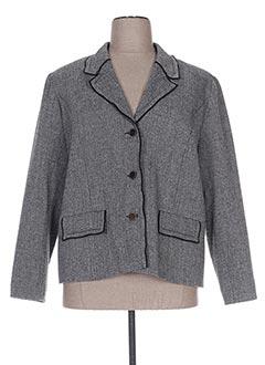 Veste casual gris FRANCOISE F pour femme
