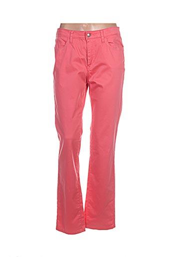 kanope pantalons femme de couleur rose