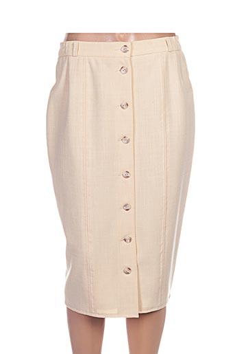maryvet jupes femme de couleur beige