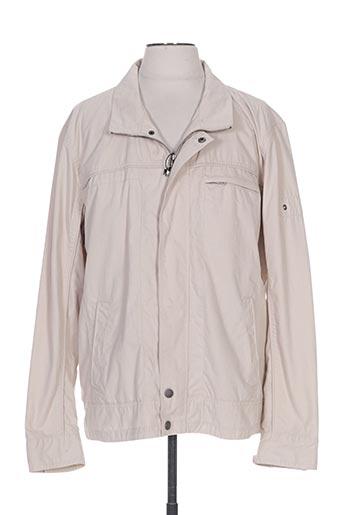 peter cofox vestes homme de couleur beige