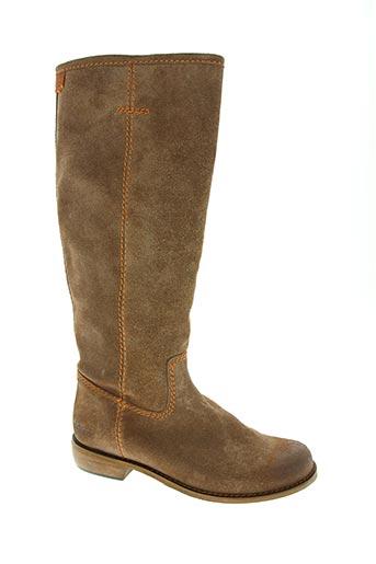 kickers chaussures femme de couleur beige