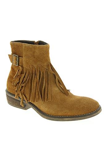 reqins chaussures femme de couleur marron
