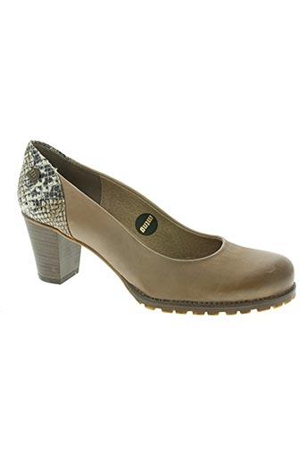 mtng chaussures femme de couleur beige