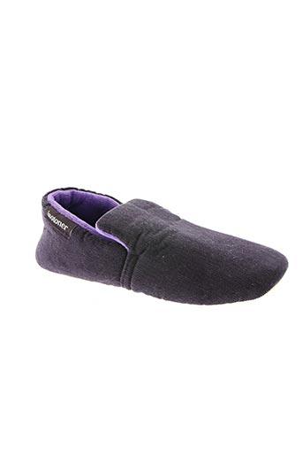 isotoner chaussures enfant de couleur violet