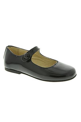 chocolate chaussures fille de couleur noir
