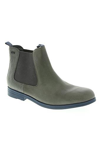 camper chaussures homme de couleur gris